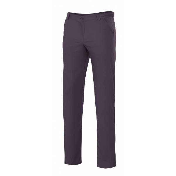 Pantalón Chino Stretch Mujer, Slim Fit. Velilla 403005S