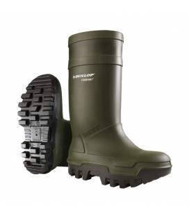Bota Dunlop Purofort Thermo + Full Safety. Mod. 97999
